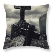 Raising The Dead Throw Pillow