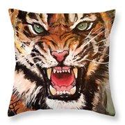 Raja Throw Pillow