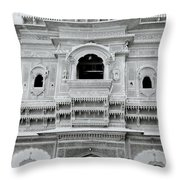 The Beautiful House Throw Pillow