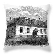 Raleigh Tavern, 1770s Throw Pillow