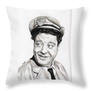 Ralph Kramden Throw Pillow