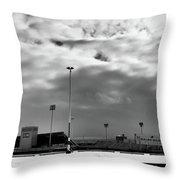 Ralph Wilson Stadium - Off Season Throw Pillow
