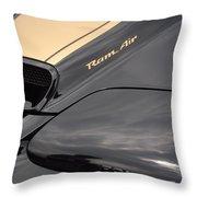 Ram Air Throw Pillow