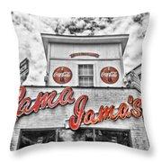 Rama Jama's Throw Pillow