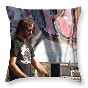 Rami Jaffee Throw Pillow