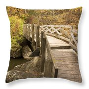 Ramsey Creek Scene 6 Throw Pillow