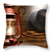 Ranch Light Throw Pillow