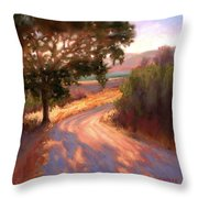 Ranch Road Throw Pillow