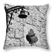 Rancho Encinal Throw Pillow