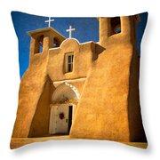 Ranchos Church Xxx Throw Pillow