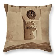 Ranchos In Palladium Throw Pillow