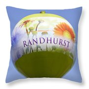 Randhurst Water Tower Throw Pillow