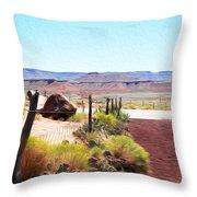 Random View In Utah 2 Throw Pillow