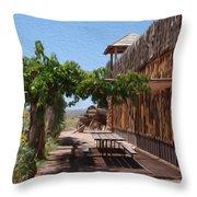 Randon View In Utah 1 Throw Pillow