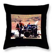 Randy And Ed And The White Elephant Throw Pillow