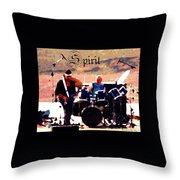 Randy And Ed And The White Elephant With Text Throw Pillow