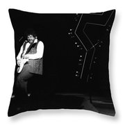Randy Takin Care Of Business 1976 Throw Pillow