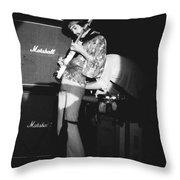 Randy Hansen 1978 Throw Pillow