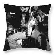 Randy Hansen Experiencing Things In 1978 Throw Pillow