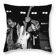 Randy Hansen In Idaho 1978 Throw Pillow
