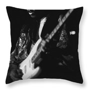 Randy Hansen Live On The 3rd Stone From The Sun 1978 Throw Pillow