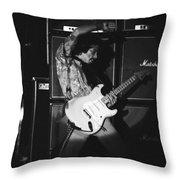 Randy Hansen Playing For Jimi 1978 Throw Pillow