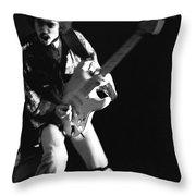 Randy Hansen Rocking In 1978 Throw Pillow