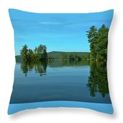 Range Pond 0050 Throw Pillow