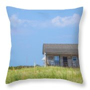 Ranger Cabin  Throw Pillow