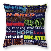 Rant Throw Pillow