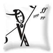 Rap Throw Pillow