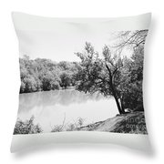 Rappahannock Riverbank I Throw Pillow