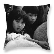 Rapt Attention Throw Pillow