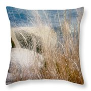 Rapunzel Reeds Throw Pillow