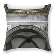 Rathaus Arch Throw Pillow