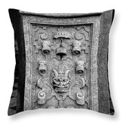 Rathaus Post 5 Throw Pillow