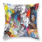 tribute to the Ramchal   Throw Pillow