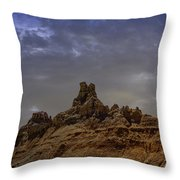 Ravages Of Time And Weather Throw Pillow