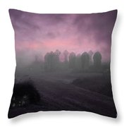 Rave In The Grave Throw Pillow