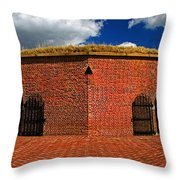 Ravelin Magazine At Fort Mchenry Throw Pillow