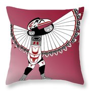 Raven Dancer Throw Pillow
