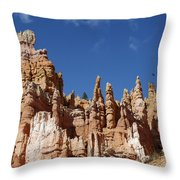 Raven Over Bryce Canyon Throw Pillow