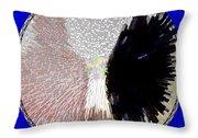 Raven-wold Mandala Yantra Throw Pillow
