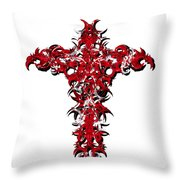 Ravi Cross 3 Throw Pillow