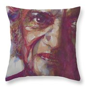 Ravi Shankar- Rabinda Shankar Chowdhury Throw Pillow
