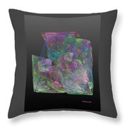 Raw Opal Throw Pillow