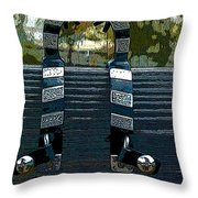 Rawlings Around Throw Pillow