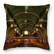 Ray Alone Throw Pillow