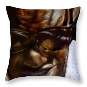 Ray Charles-beyond Sight 2 Throw Pillow
