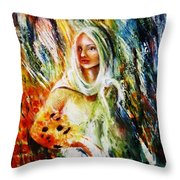 Ray Of Sunshine Throw Pillow